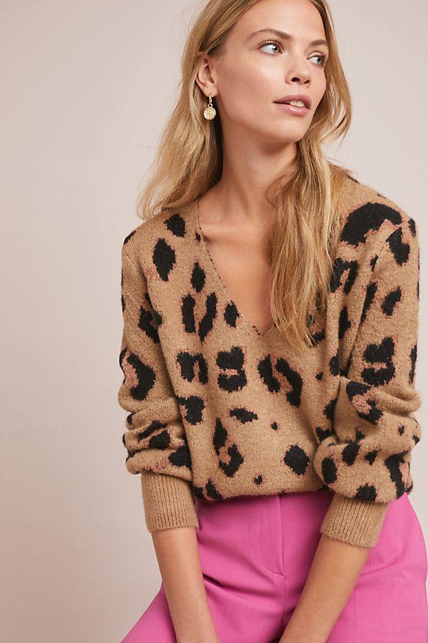Anthropologie Robinson Leopard Sweater.jpeg