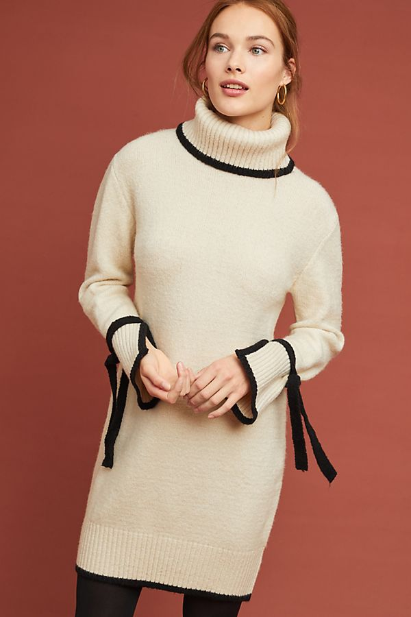 Anthropologie Bow-Tied Turtleneck Dress.jpeg