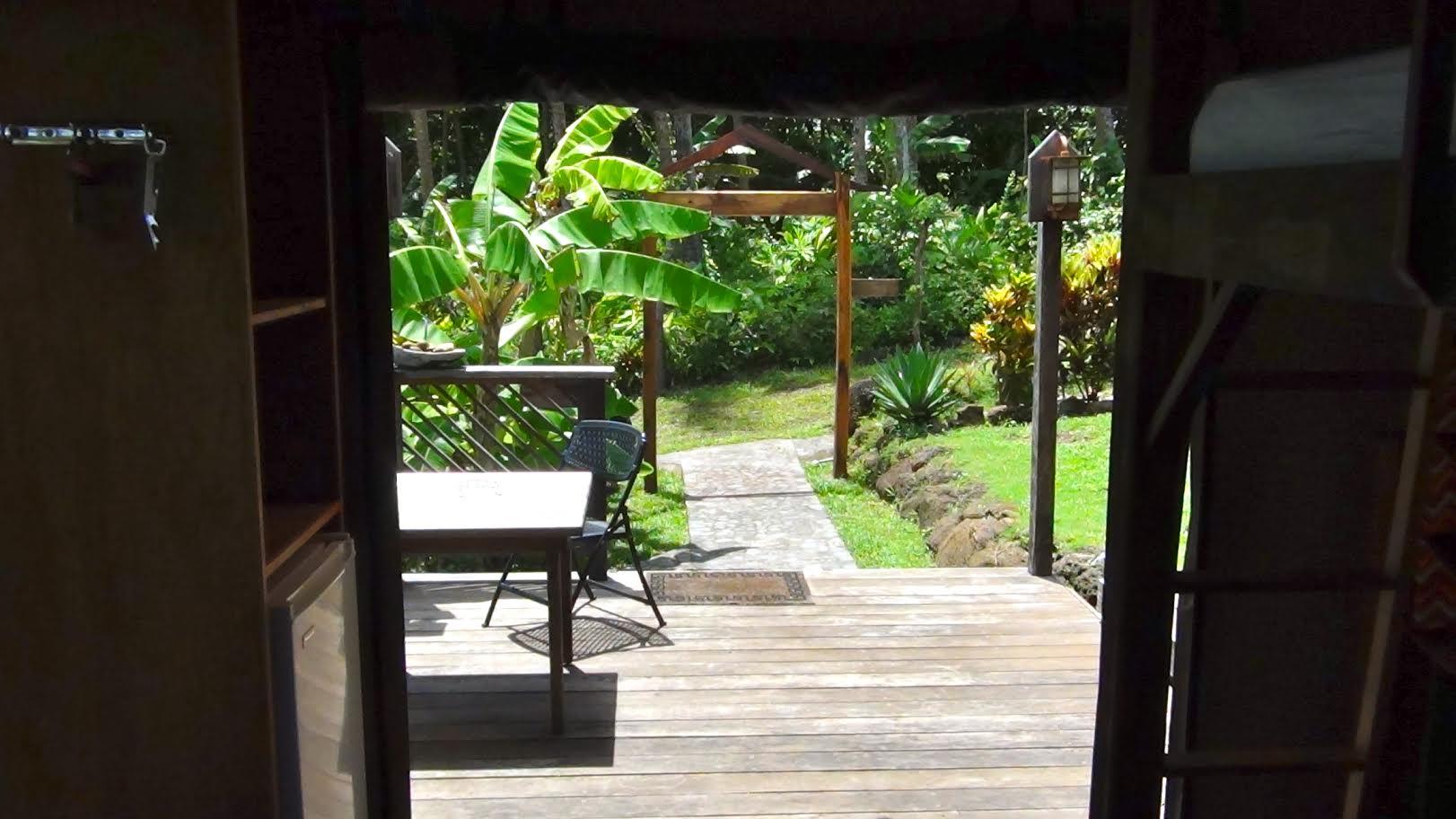 Los Escapados Eco-Cabin 3 private deck