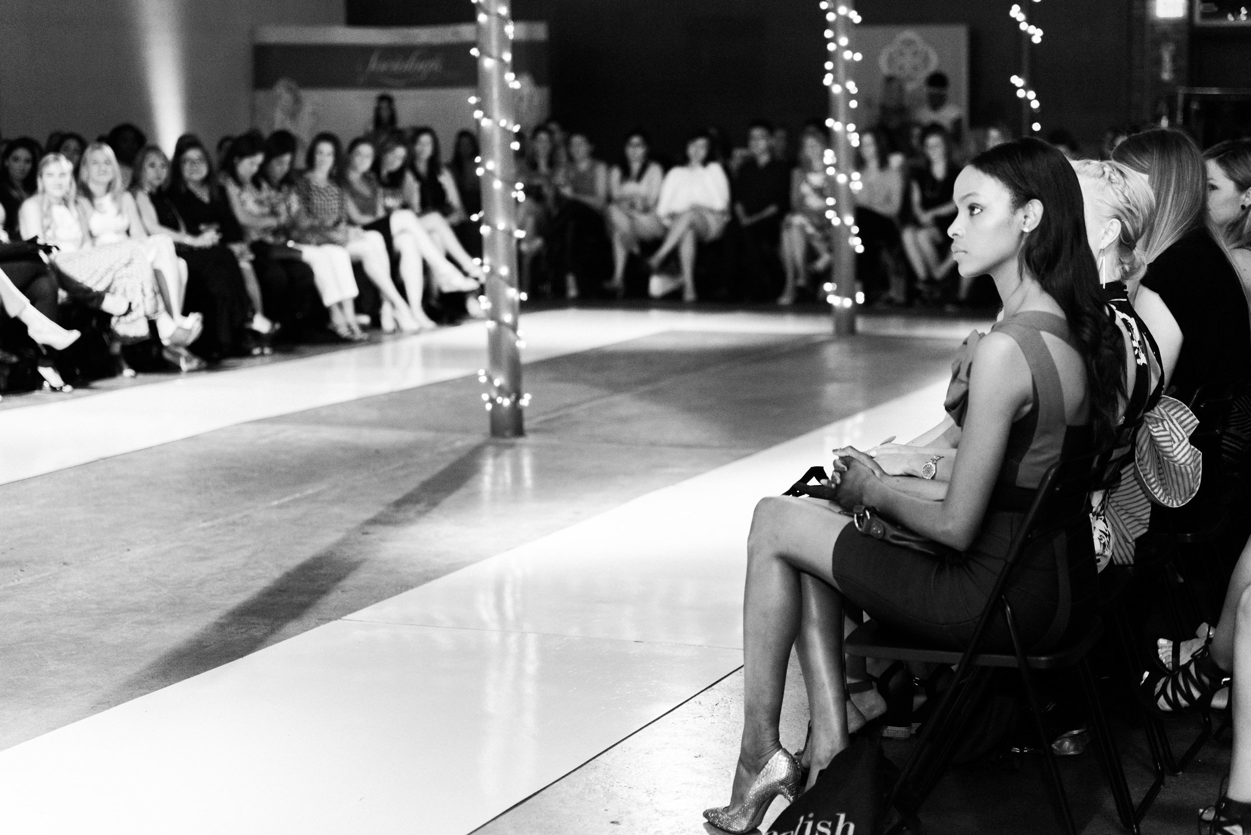 Front row at last year's Polish Fashion Show stunned as equally as the runway looks themselves.