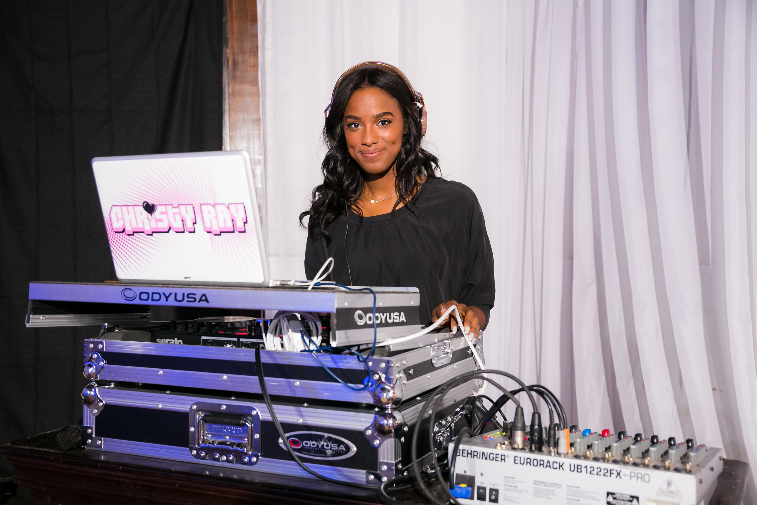 DJ Christy Ray made quite the impression with her amazing playlist.