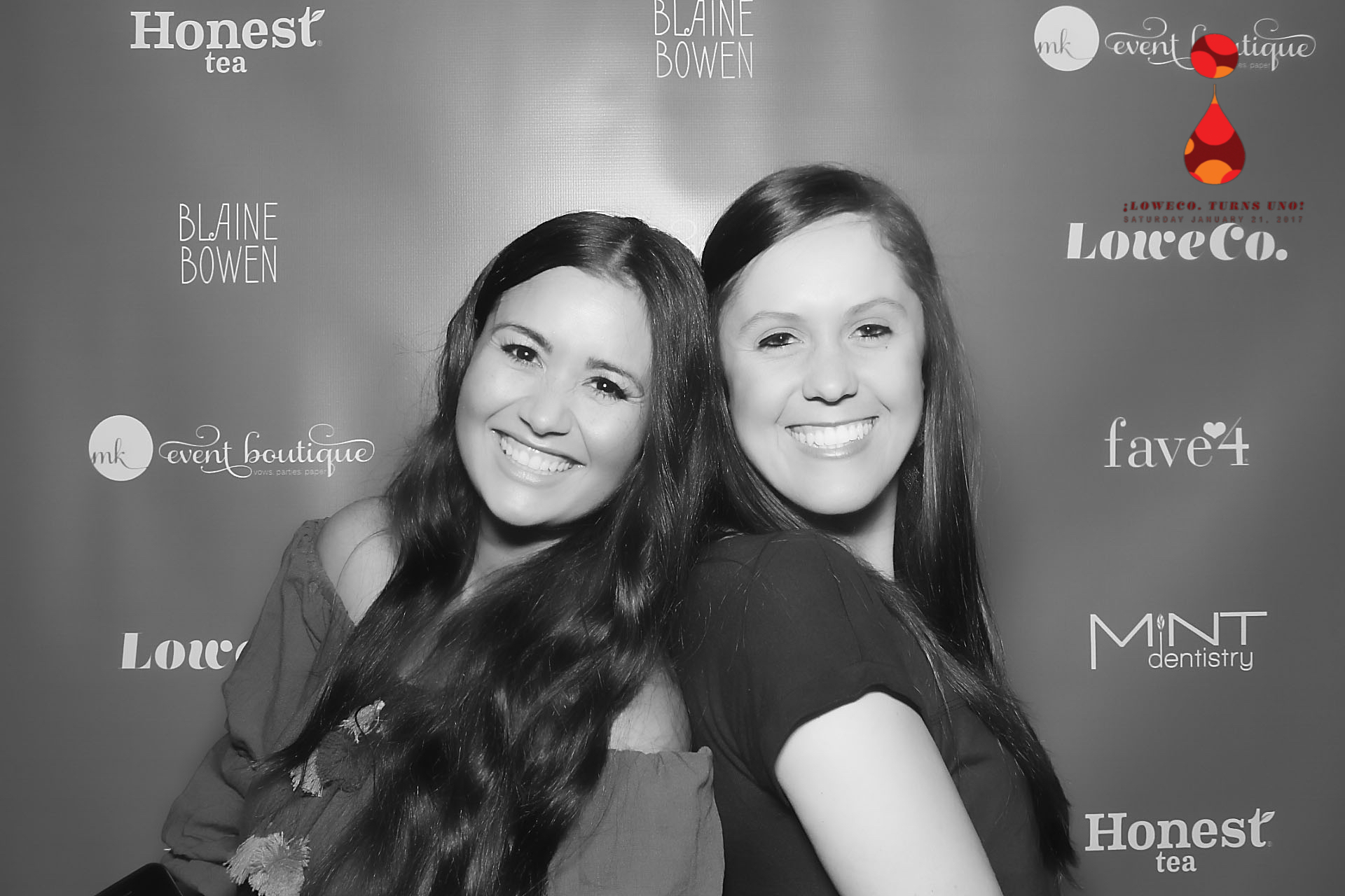 Catherine Lowe and LoweCo.'s Executive Assistant (and much more) Quinn Barker revel in an event well done.