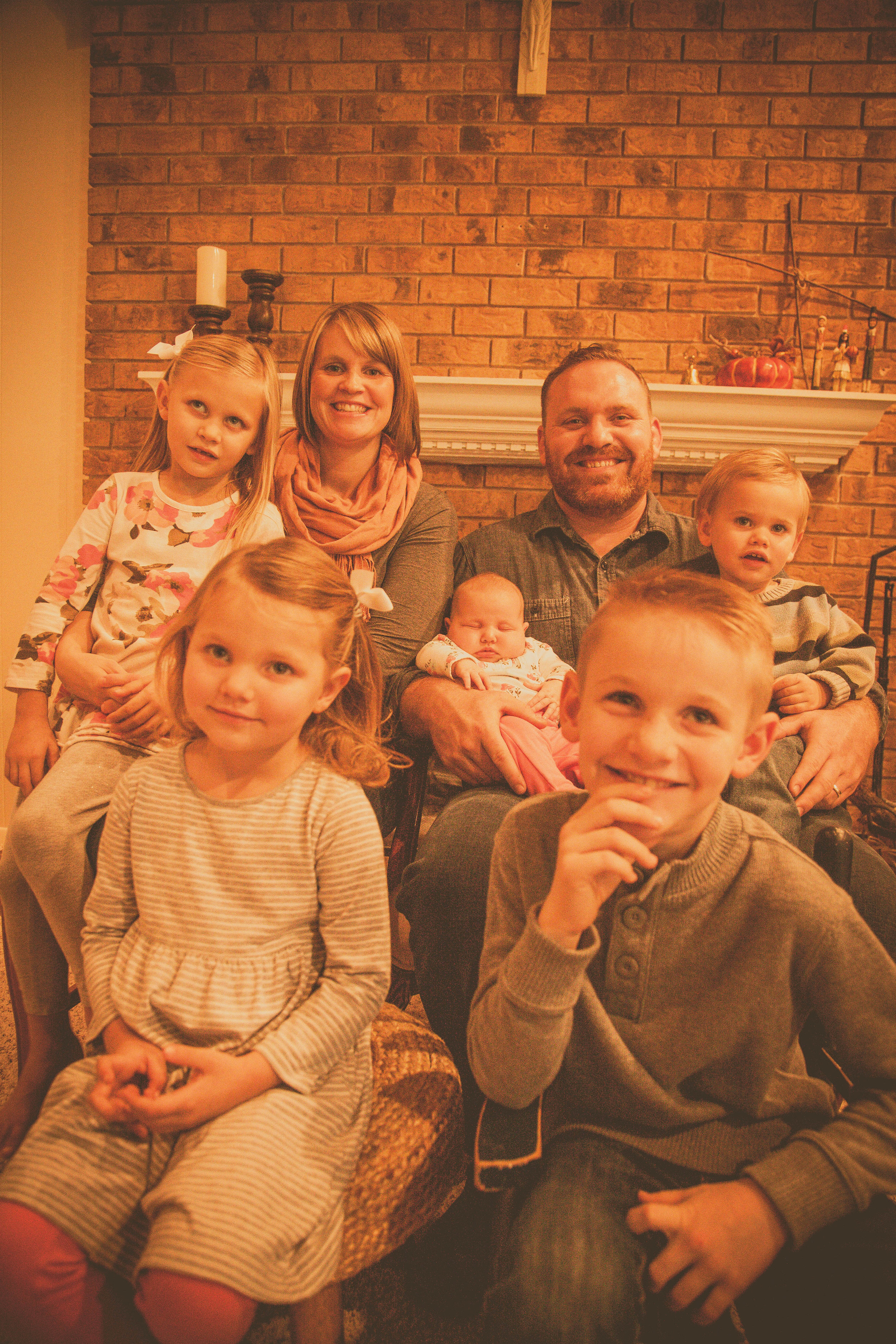 Tom & Renee Grossman- Founders  Zion, Clare, Stella, Blaise, and Genevieve