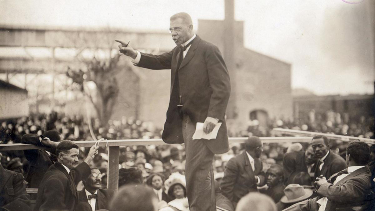 Photo: Booker T. Washington
