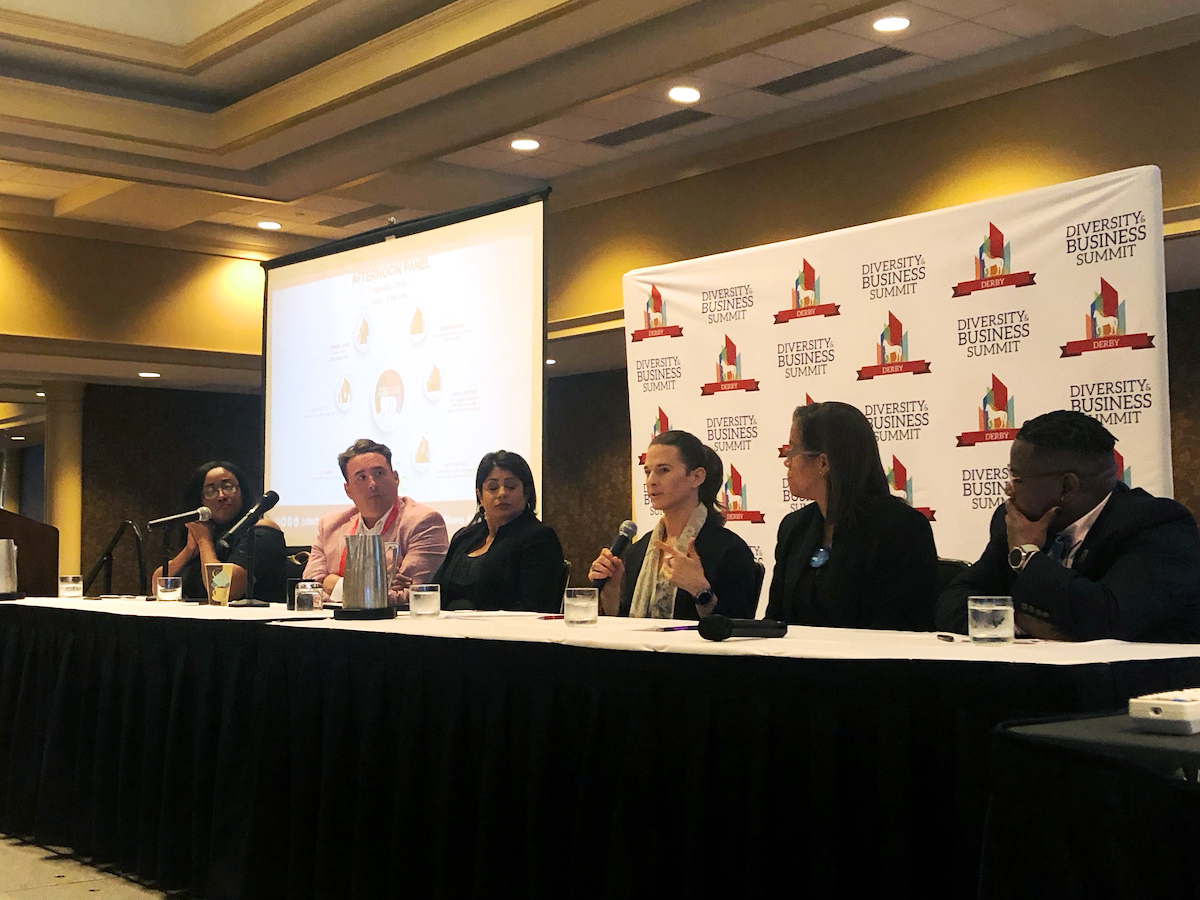 Identity Crisis Panel during Derby Diversity & Business Summit 2019