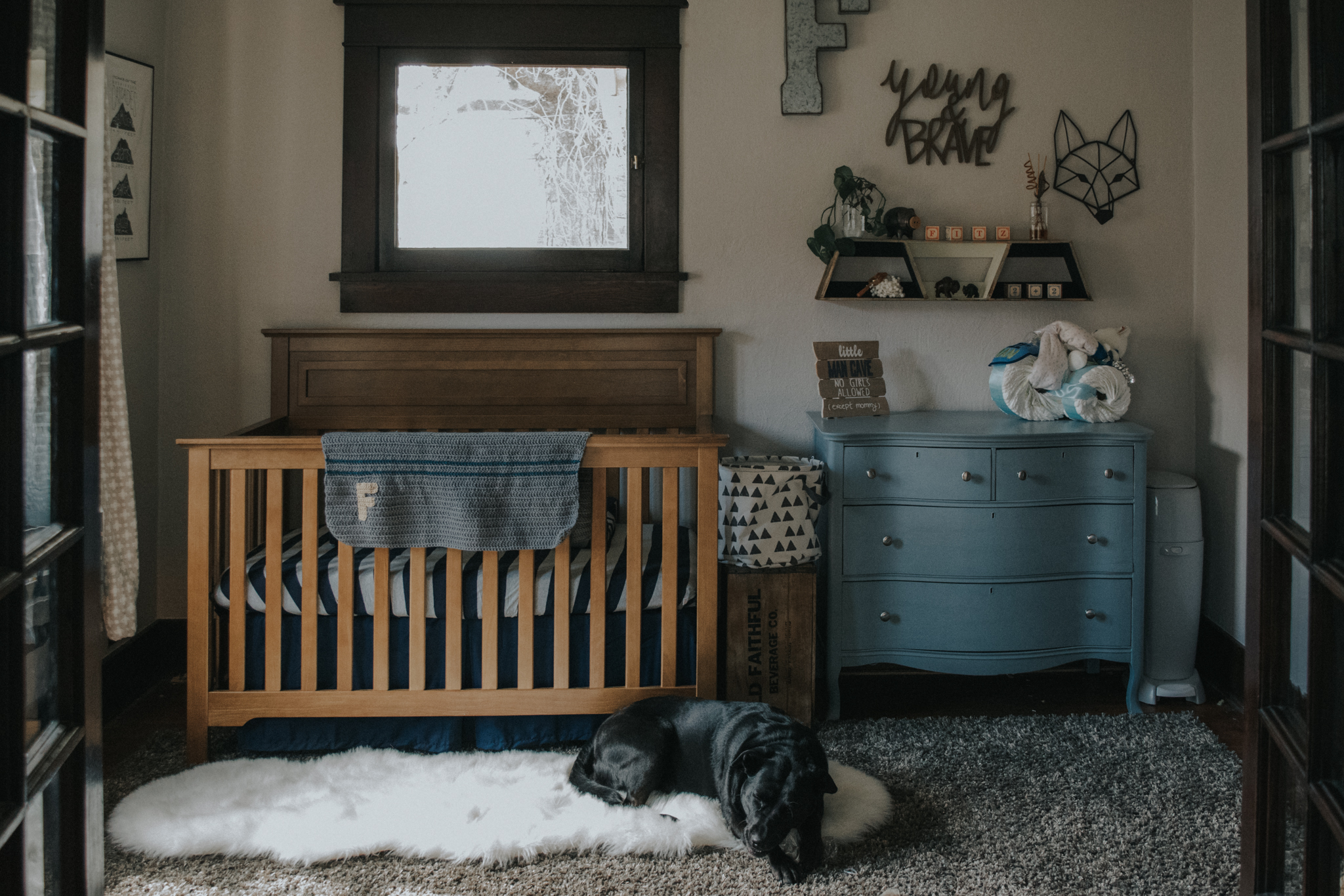 wanderlust neutral nursery tour