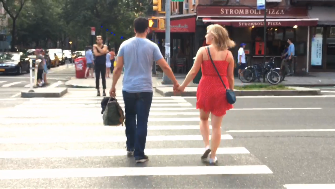 Item number 366 subjects appear to be taking a liking to each other. Have started to hold hands post first date.