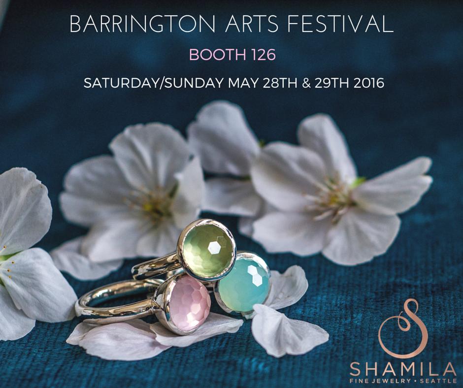 Barrington Arts Festival - Shamila Fine Jewelry
