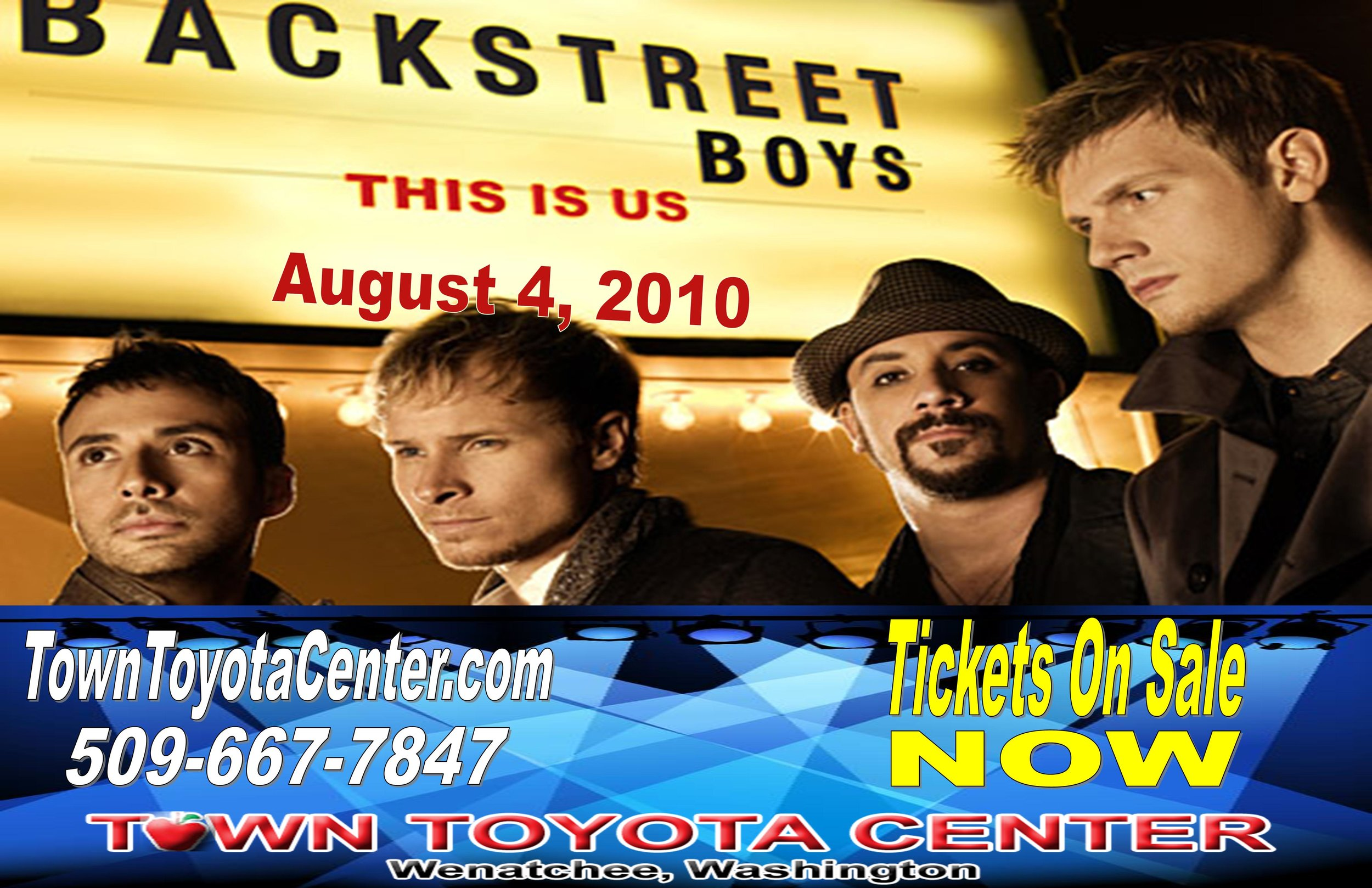 TTC TV Screen Backstreet Boys On Sale NOW.jpg