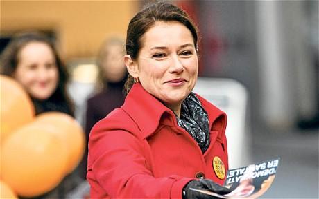 Prime Minister Birgitte Nyborg.