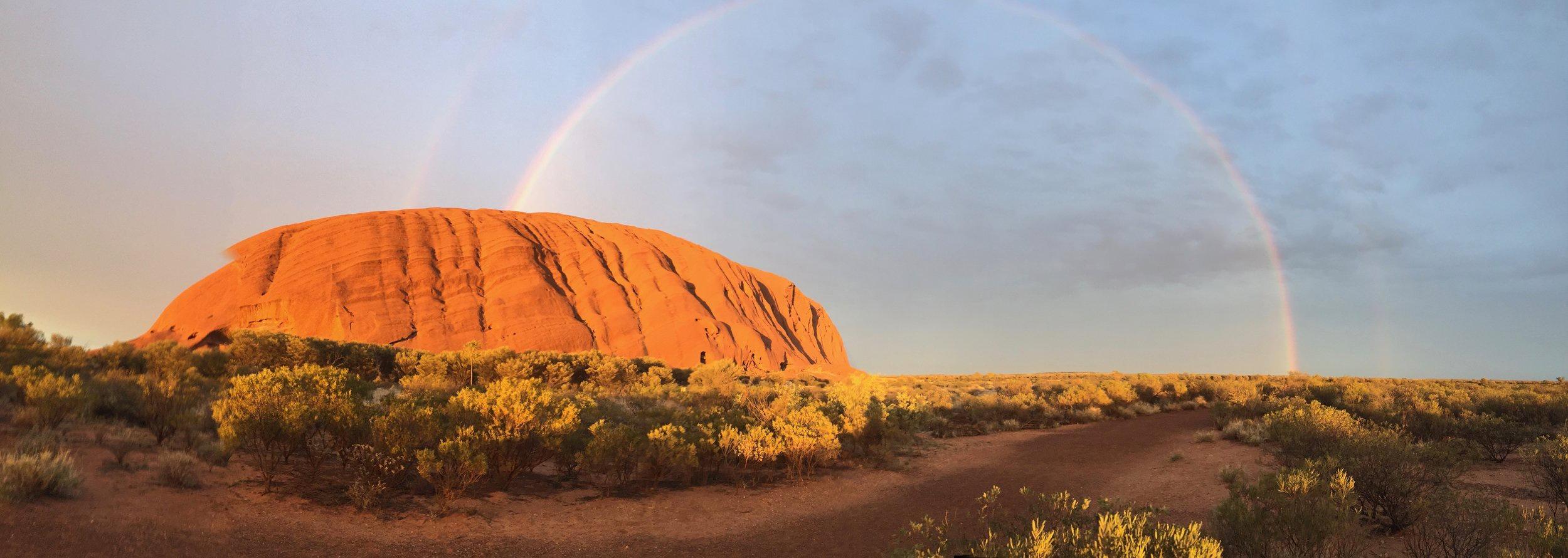 Uluru after a rain in November 2018!