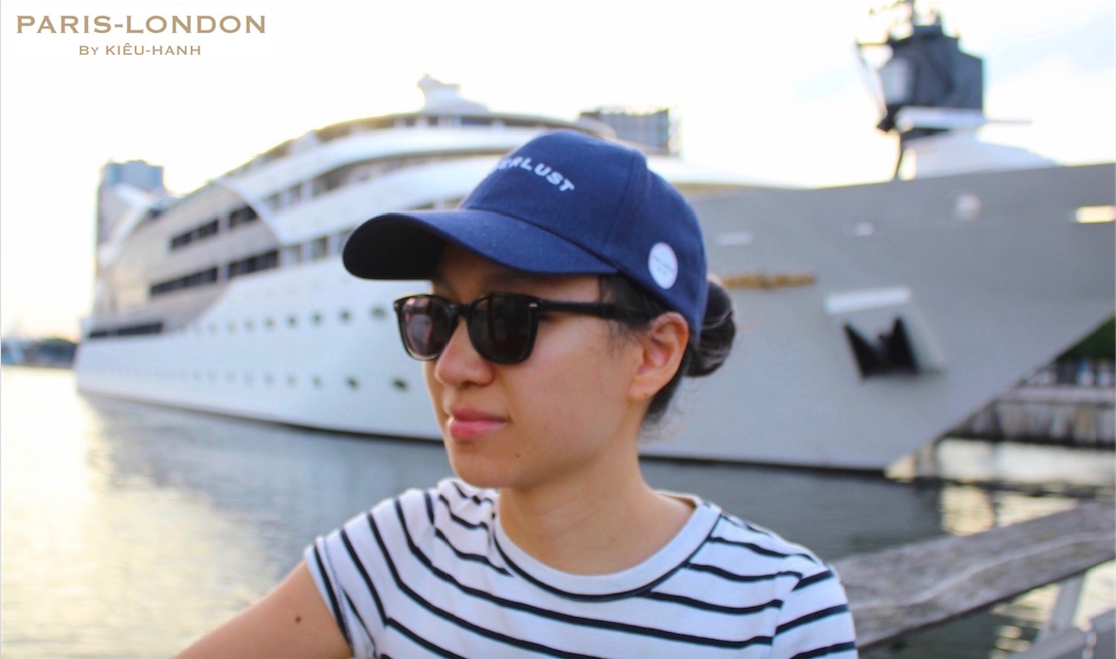 Cap Colour: French Navy. Wanderlust Style: White Embroidery.