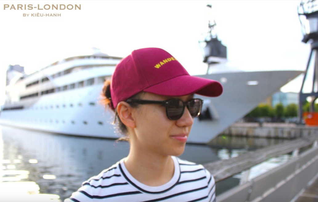 Cap Colour: Burgundy. Wanderlust Style: Yellow Embroidery.