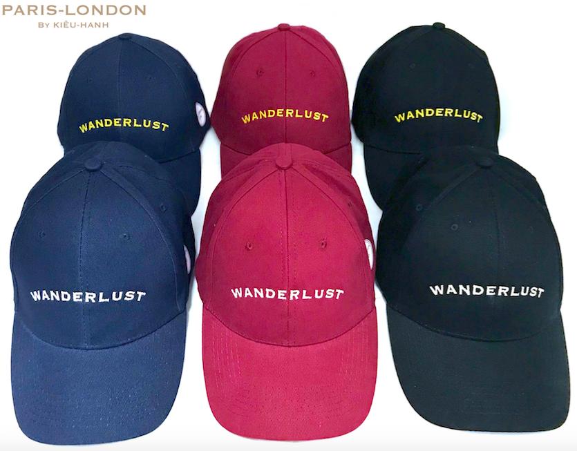Wanderlust Cap. Made in the UK.