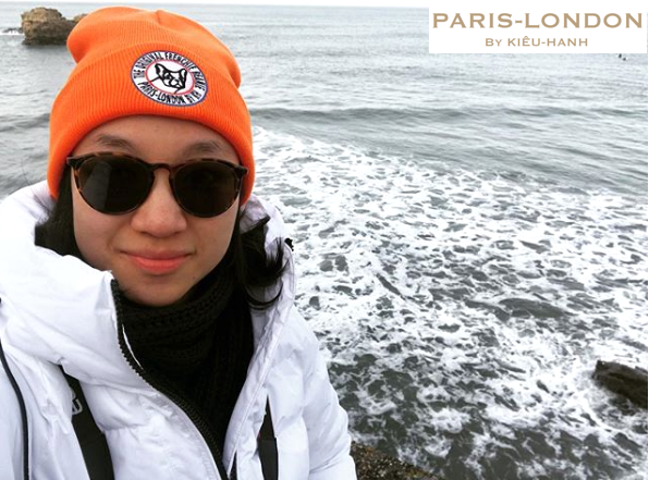 Exploration & Adventure! Wearing The Original Orange Frenchie Beanie.