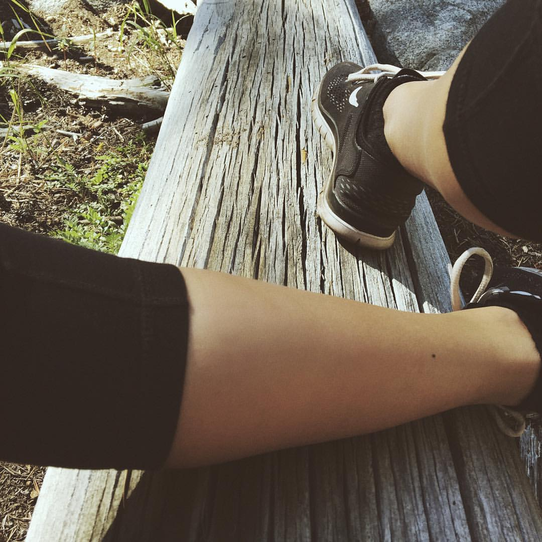#takeahike #nike #vsco #wood #texture #nature