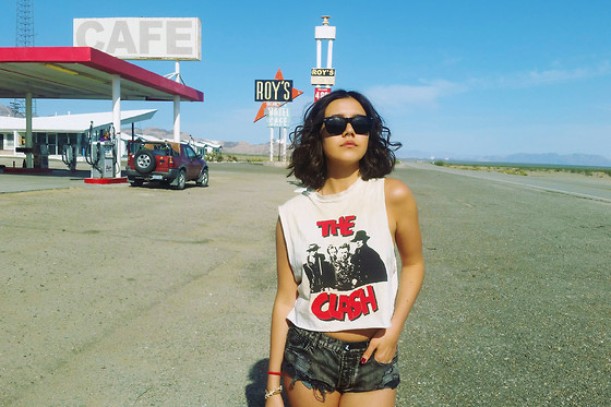 Shop this look here:   Bat Country
