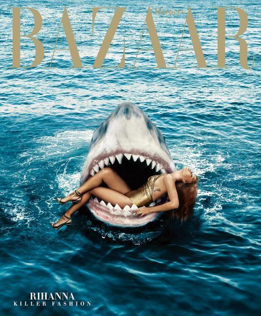 Rihanna Harper's Bazaar March 2015