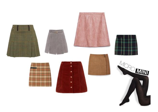 Micro Mini Skirts