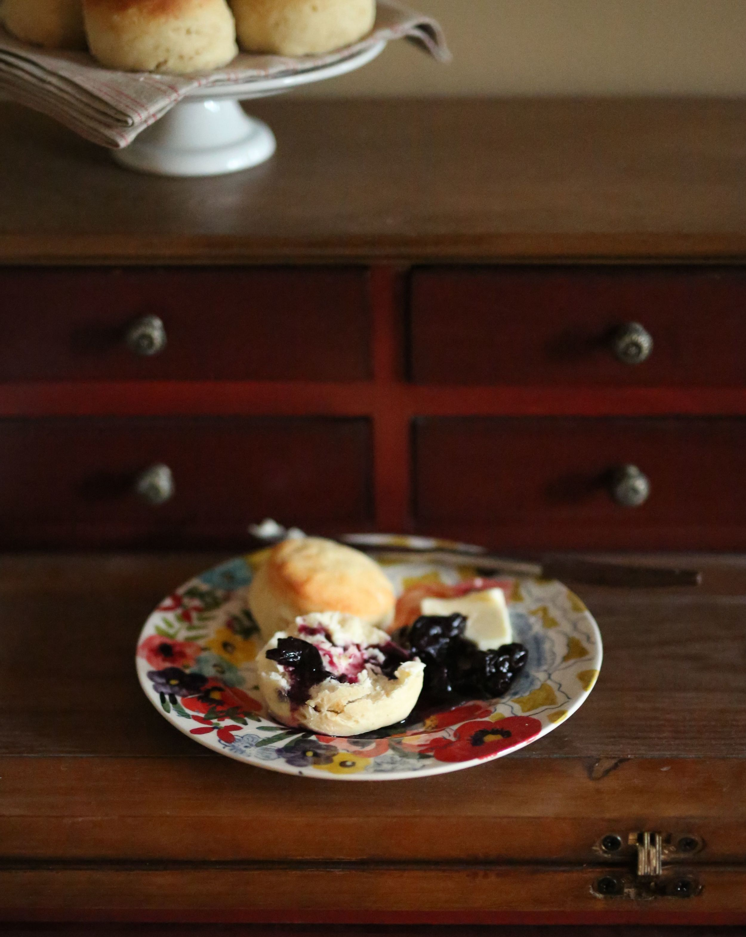 easie's rolls with concord grape jam | field + forest