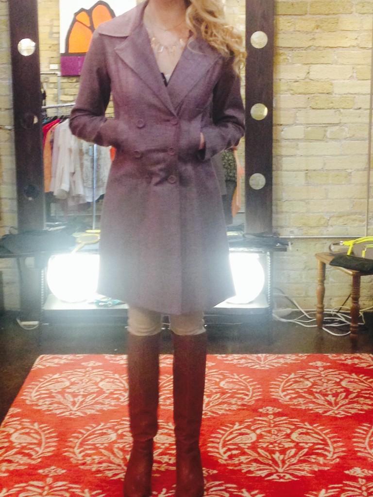 Coat : $324, sizes S, M, XL