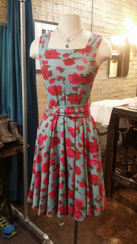 Effie's Heart Dress : $112, sizes XS-M   La Vie Pendants : $54 each, different colors available