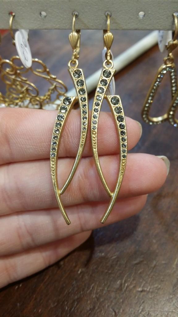 Double Swish Earrings: $64