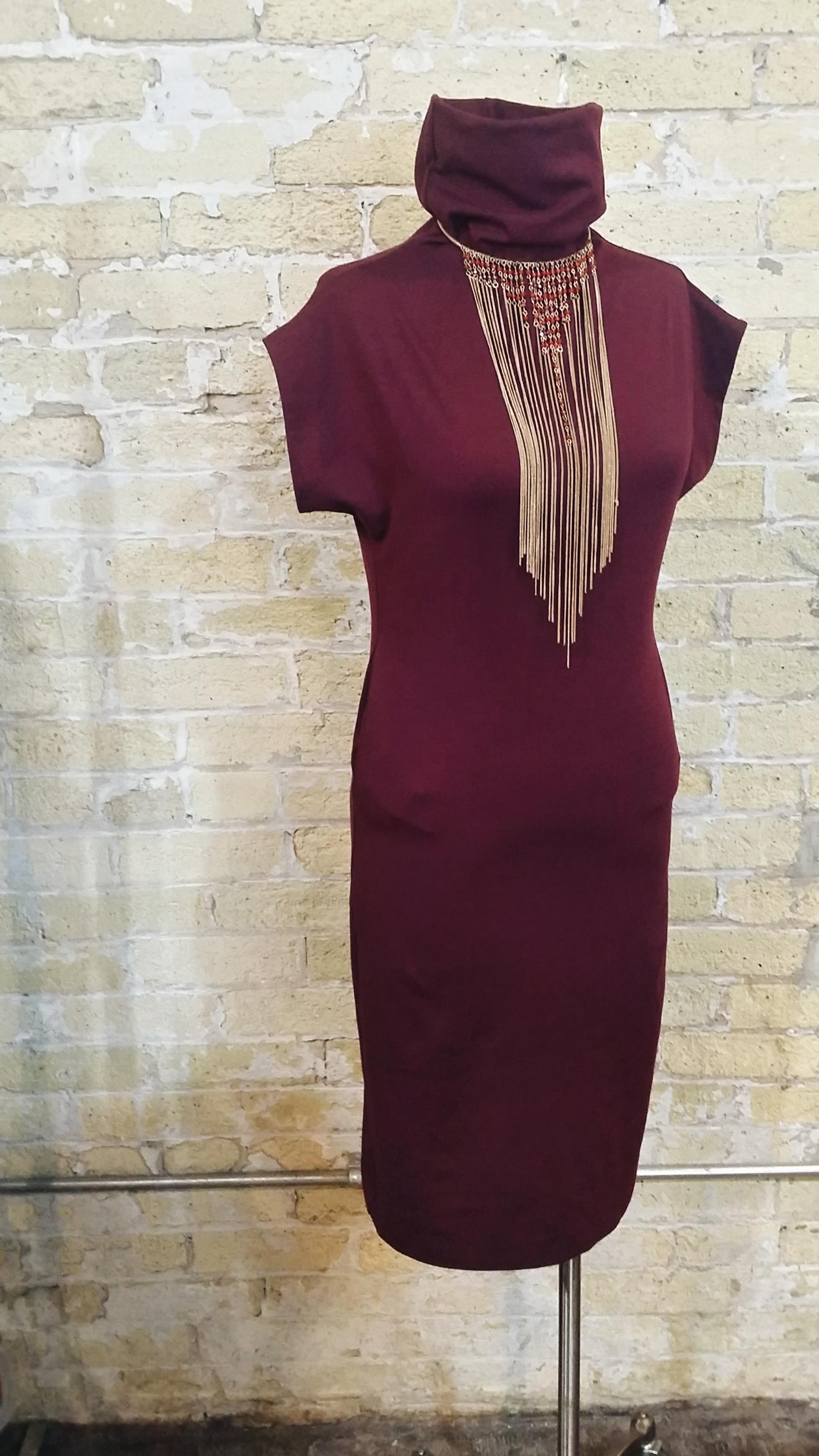 MEG Dress: $184  Necklace: $28