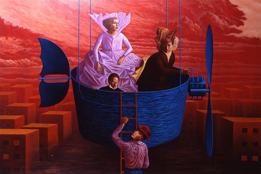 Éxodo II - by Rafael Trelles