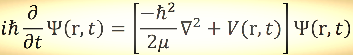 Time-dependen Schrödinger Equation  (single non-relativistic particle)