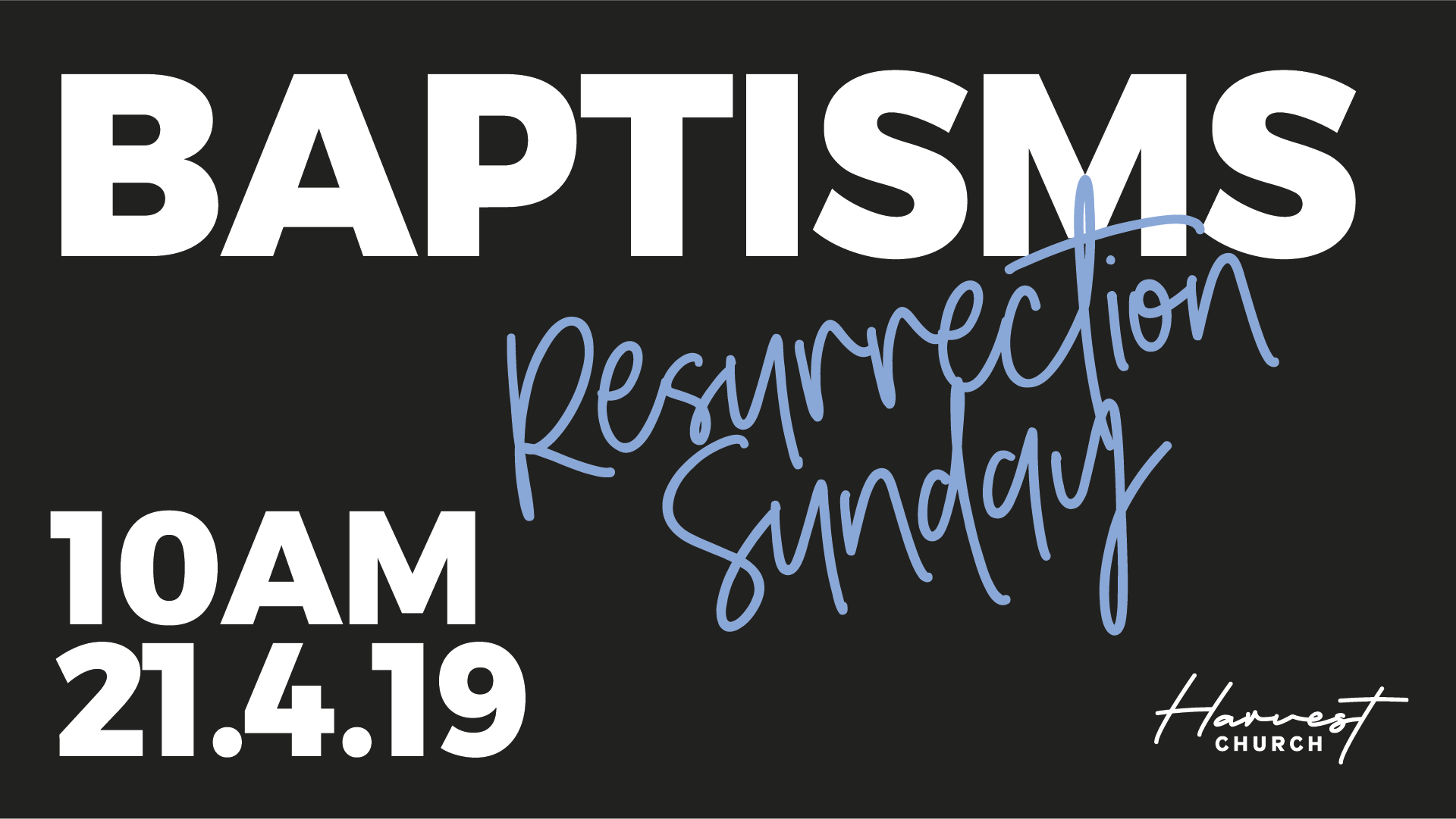 Join us on Sun 21st April at 10am to celebrate with each person their decision to be baptised.