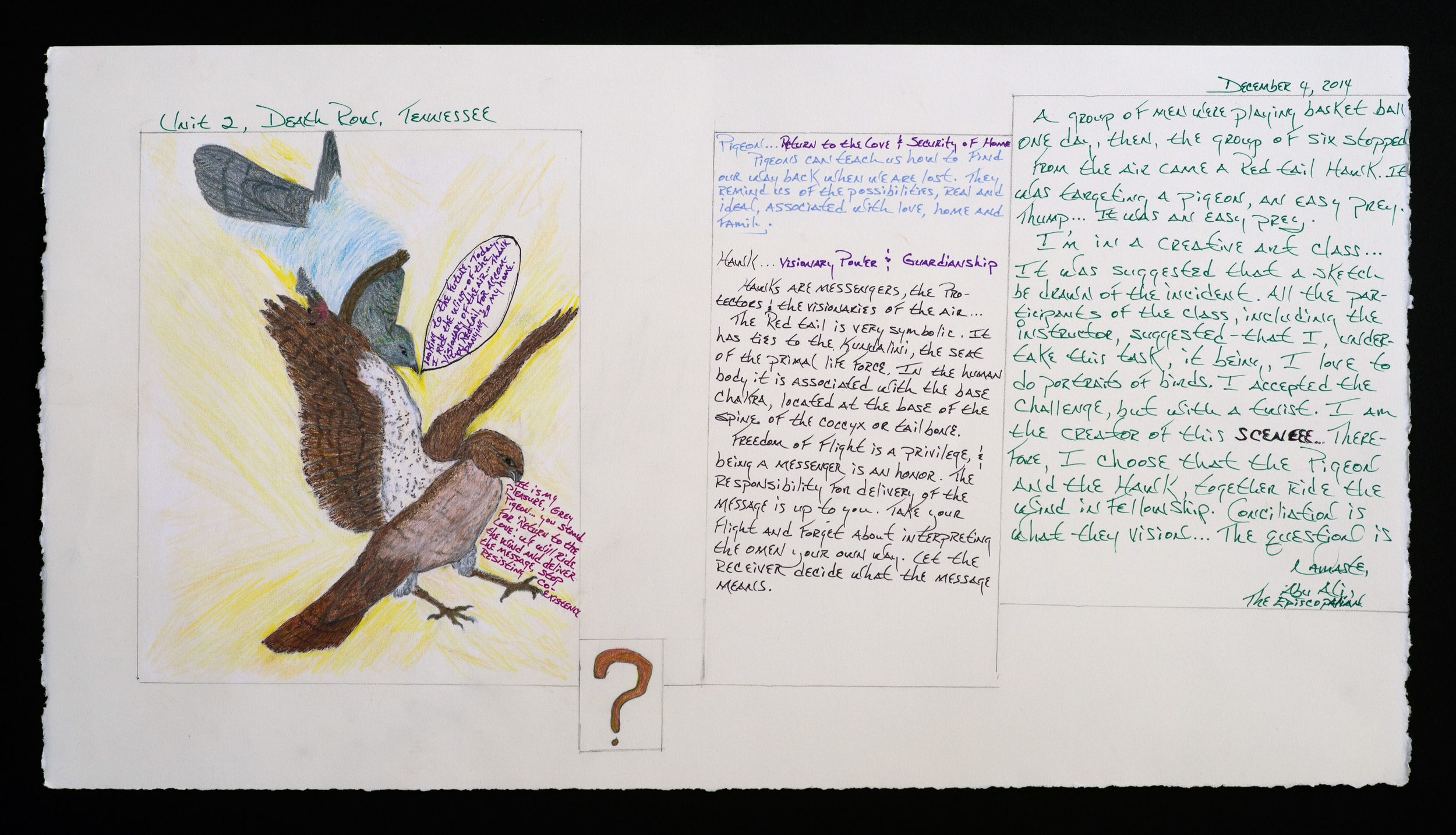 Untitled (Pigeon's and Hawk's Teaching)