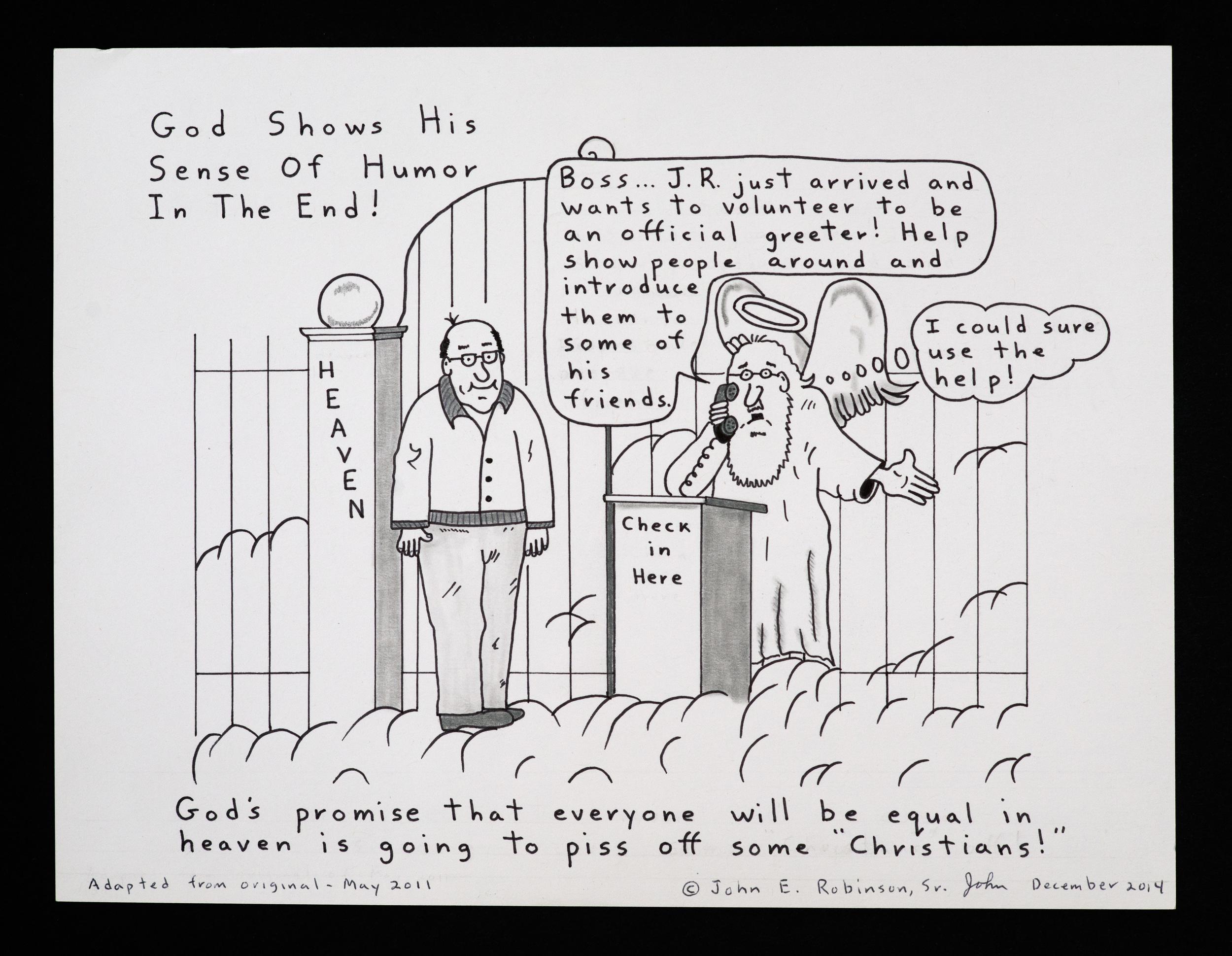 God's Sense of Humor