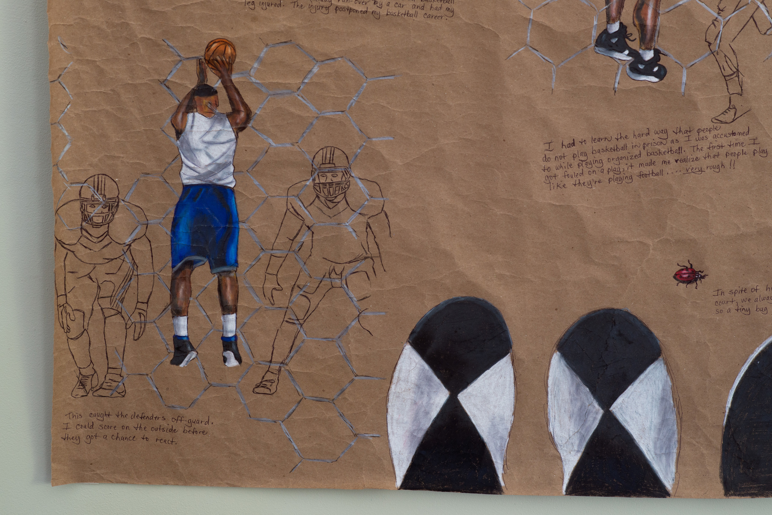 Kennath Artez Henderson, Basketball Games (detail 5).jpg
