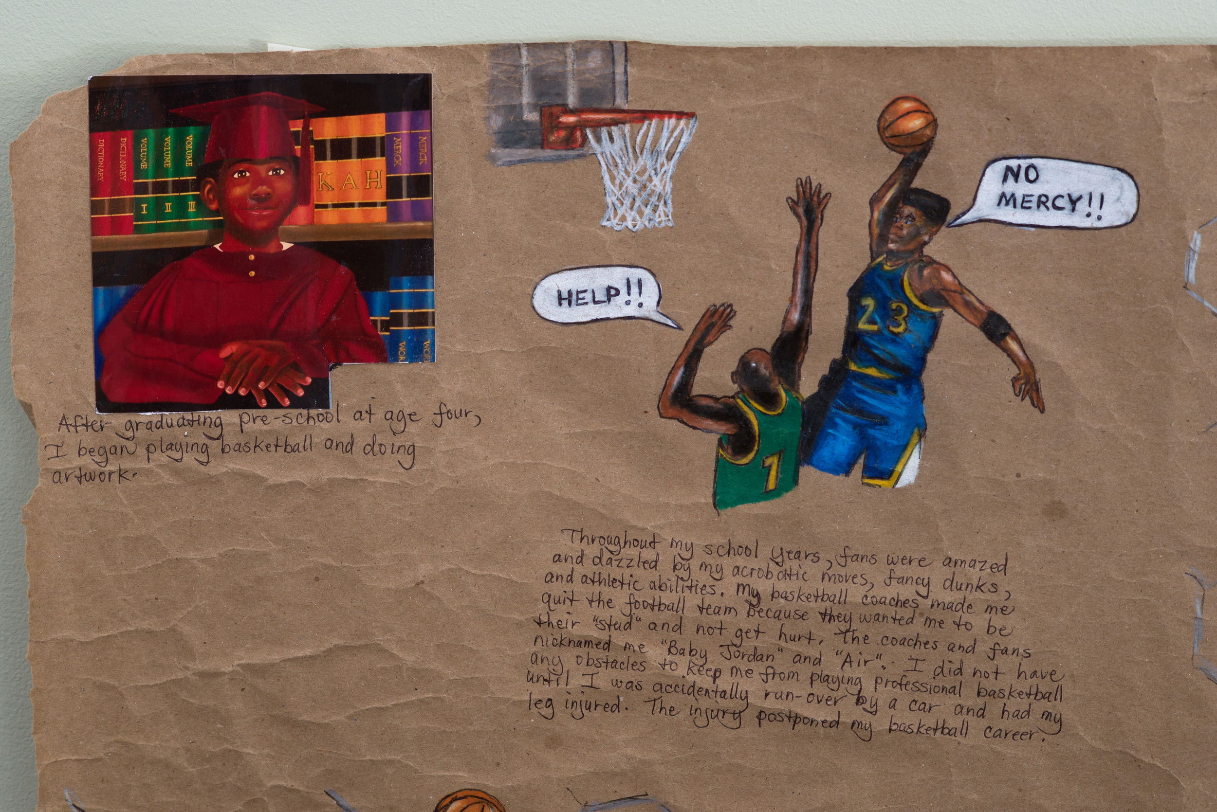 Kennath Artez Henderson, Basketball Games (detail).jpg