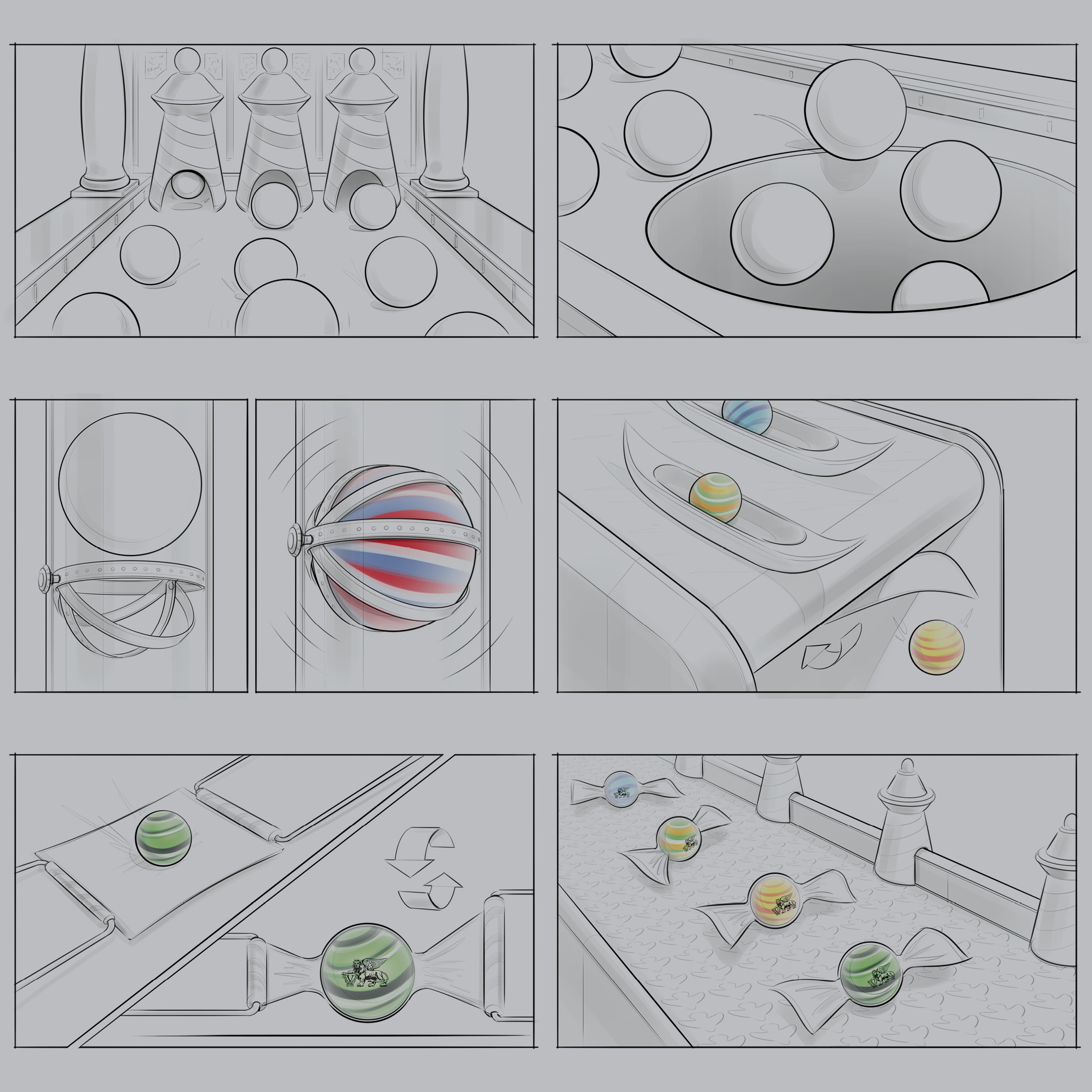 STORYBOARD - AND ILLUSTRATION