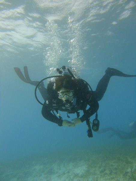 Pediatrics resident then medical student scuba diving