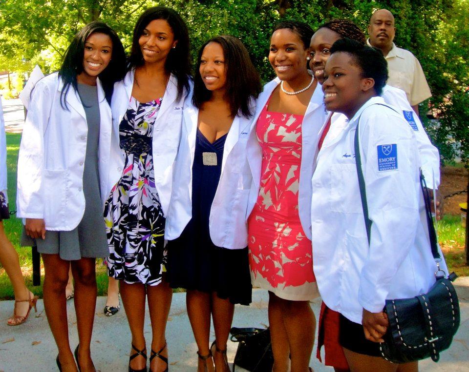 Young black female doctors / medical students - Elyse Love, MD - career profile - black doctors - black medical students - SNMA