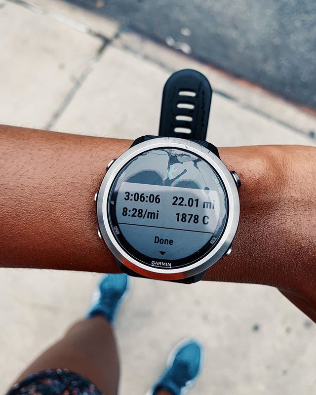 "Me 30 minutes after this 22 mile run: ""I think my legs are crying.. oh wait, no that's me. I'm crying."" 😹😭