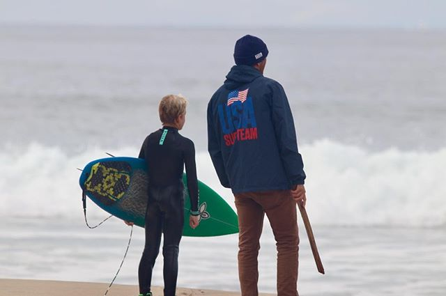 Coaching is about encouraging and building up great people. Regardless of how far their surfing careers take them.  Thank you to all the parents and kids who trust Vert to be a positive impact in their lives.  Photo: @the_sandvigs