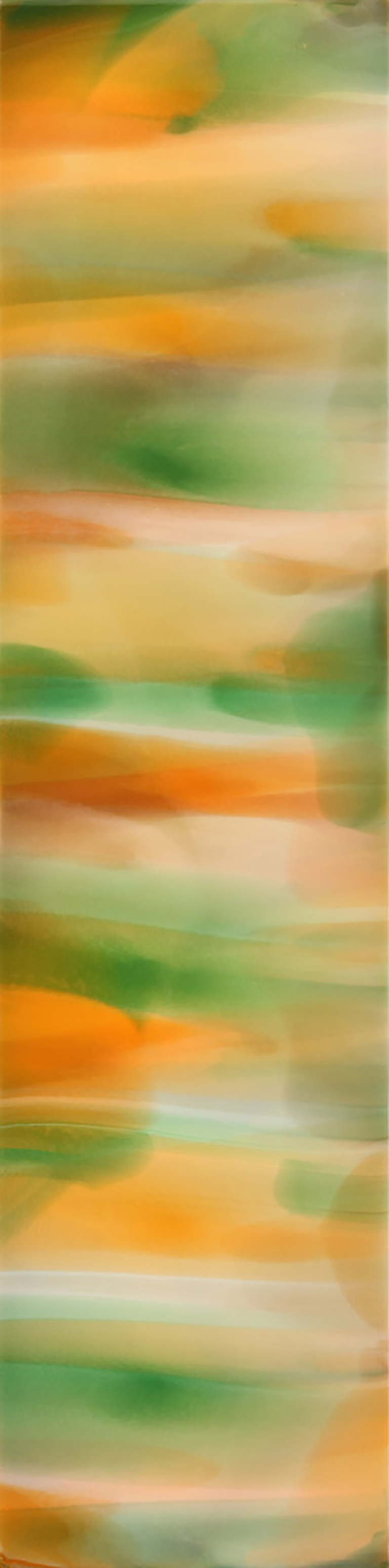 Delight , Acrylic on Mahogany/Aluminum Panel,24 x 6 in.  Contact Gallery for Price