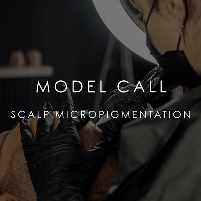 Hello YYC 👋🏻 MODEL CALL for scalp micropigmentation.  Students will be monitored and assisted by our artists Lee and Hoi. *Dont miss this chance! • • WHEN: Friday July 19 @ 4:30pm  CRITERIA: NO PREVIOUS COSMETIC TATTOO, accepting female and male models🙆🏻♂️🙆🏻♀️ • • Please email us CLEAR PHOTOS areas of your head that you would like treated to INFO@HOITATTOO.COM.