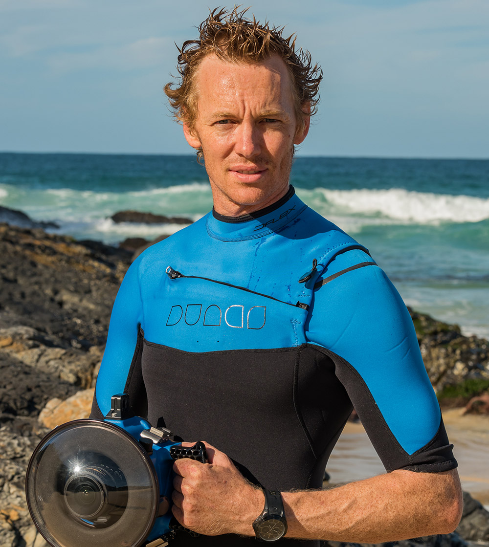 "Kian Bates - Multi-award-winning photographer""I grew up next to the ocean, so I've always had an affinity for it. It doesn't matter whether I'm on a bodyboard or a surfboard, or if I'm fishing, free-diving or simply behind the camera – I feel recharged by the ocean's magnificence."""