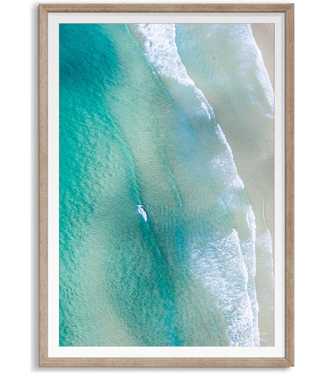 Lighthouse Beach raw shadowbox framed.jpg