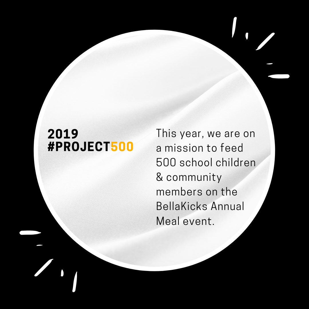 project500 - Last year we fed over 200 school children together with their local community. This year, we're determined to feed 500!Read more about last years annual meal