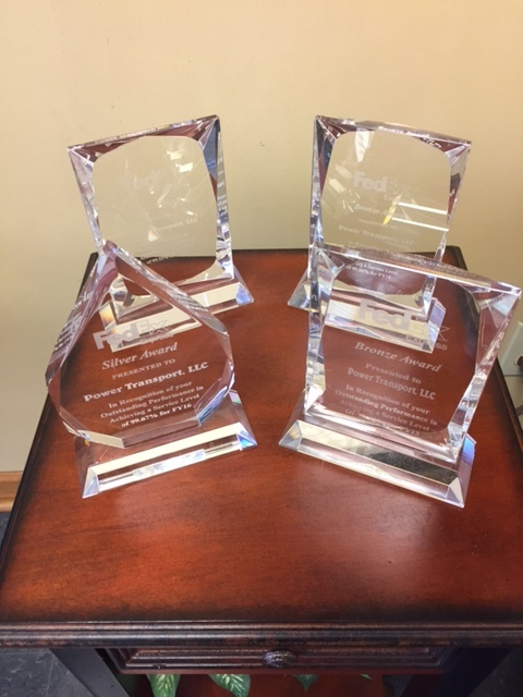Carrier Service Award For On-time Service From FedEx Express