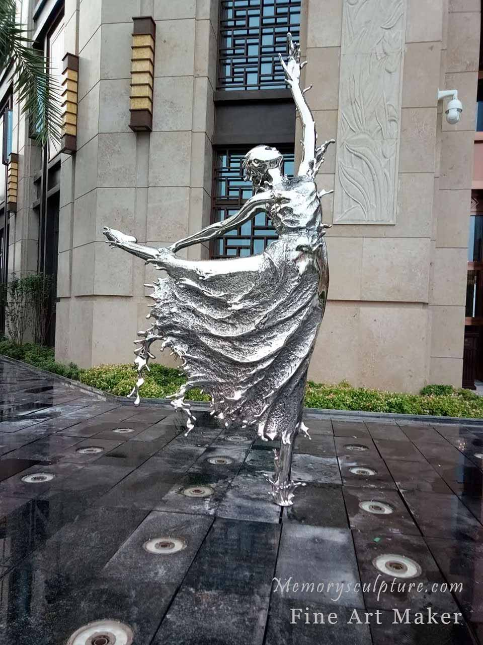 Stainless Steel Sculpture Fine Art Fabrication