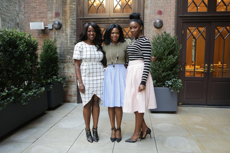 L-R: Danielle Gray, Felicia Walker Benson and Christene Carr