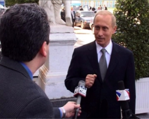 Interview with President Vladimir Putin, St. Petersburg, July 2001