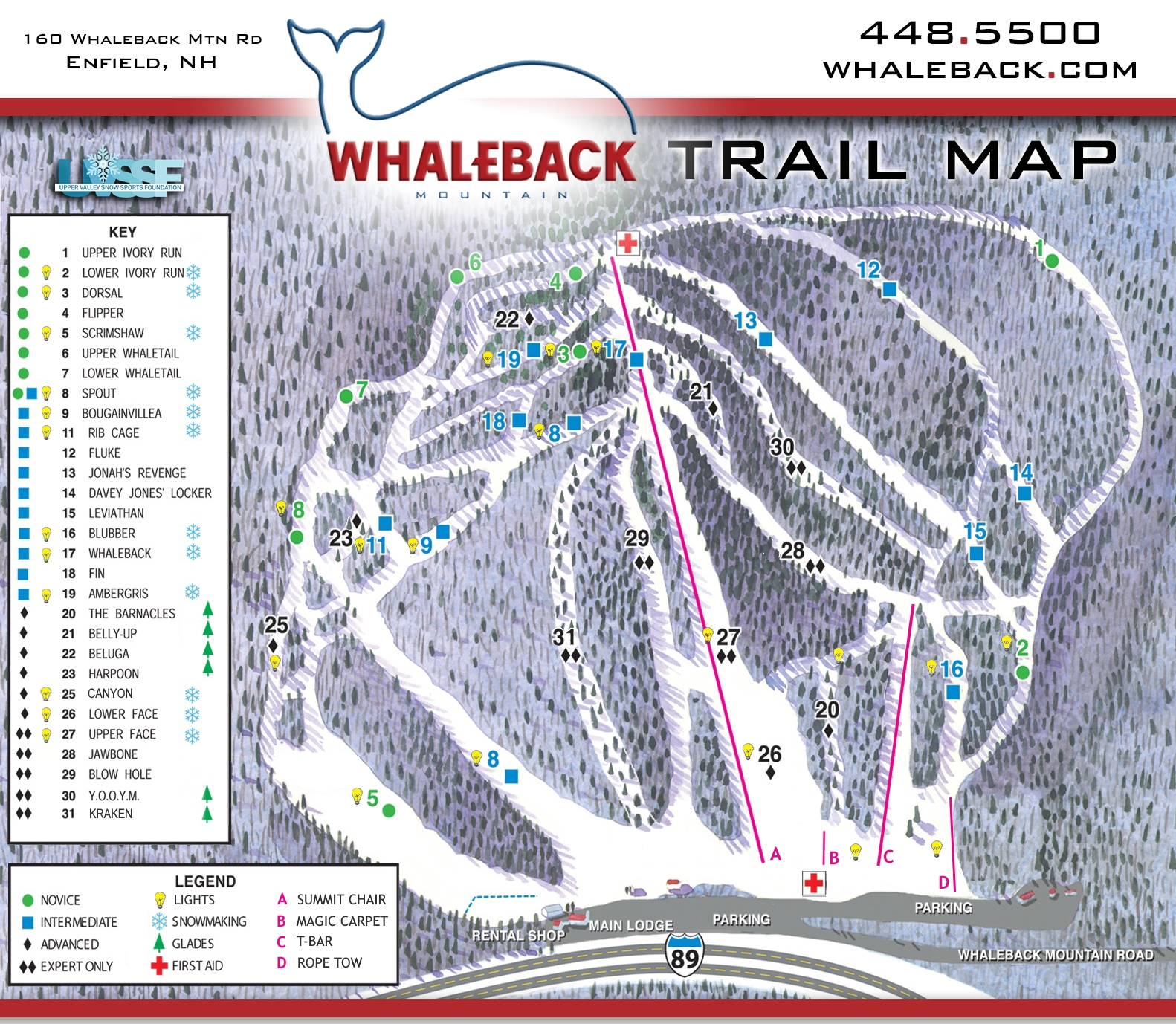 Trail Map — Whaleback Mountain on new hampshire on a map, new hampshire scenic drives map, new hampshire canada map, new hampshire tourism map, new hampshire parks map, new hampshire speedway map, new england ski resorts, new hampshire golf map, new hampshire lakes map, gunstock ski area trail map, nh new hampshire mountains map, new mexico ski resorts, new hampshire vineyards map, new hampshire campgrounds map, new hampshire trail maps, new hampshire schools map, new hampshire fishing map, new hampshire town line map, new hampshire colonial era map, steamboat springs ski area map,